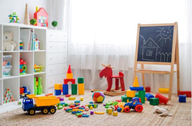 como organizar os brinquedos -SEPAC