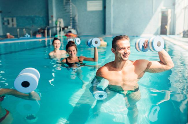Os benefícios da hidroginástica para a saúde
